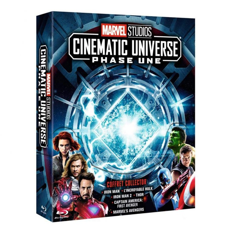 COFFRETS BLU-RAY MARVEL STUDIOS