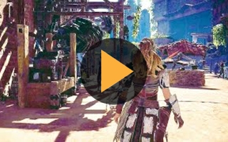 25 minutes de gameplay épique pour Horizon Zero Dawn