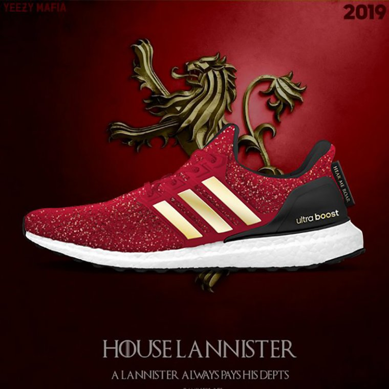 Basket Adidas Game of Thrones - Lannister