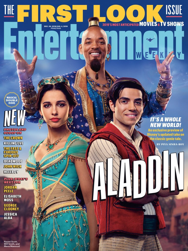 Aladdin - Couverture Entertainment Weekly