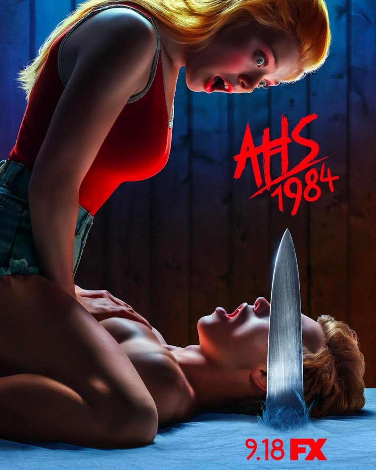 American Horror Story : 1984 - Affiche