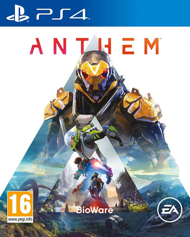 Anthem - Jaquette PS4