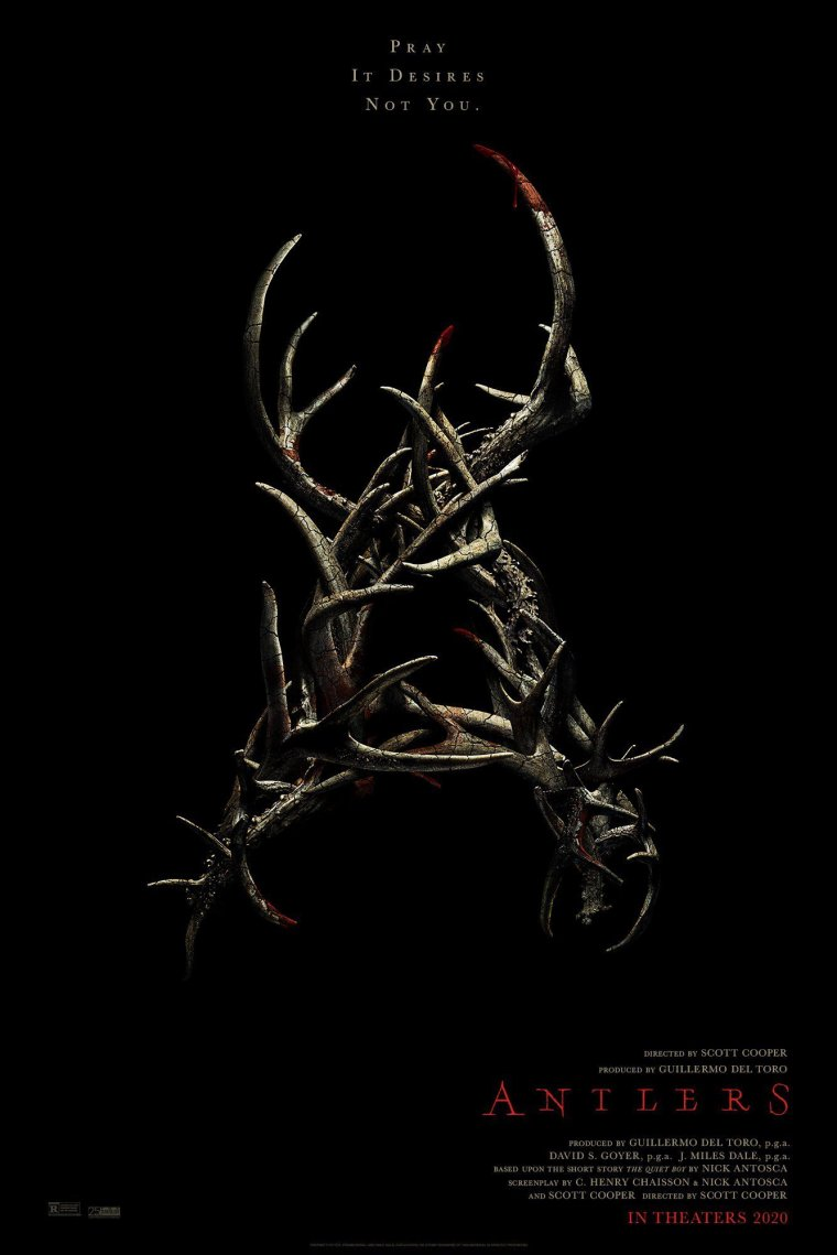 Antlers - Affiche