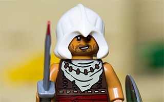 Assassin's Creed Origins recréé en LEGO
