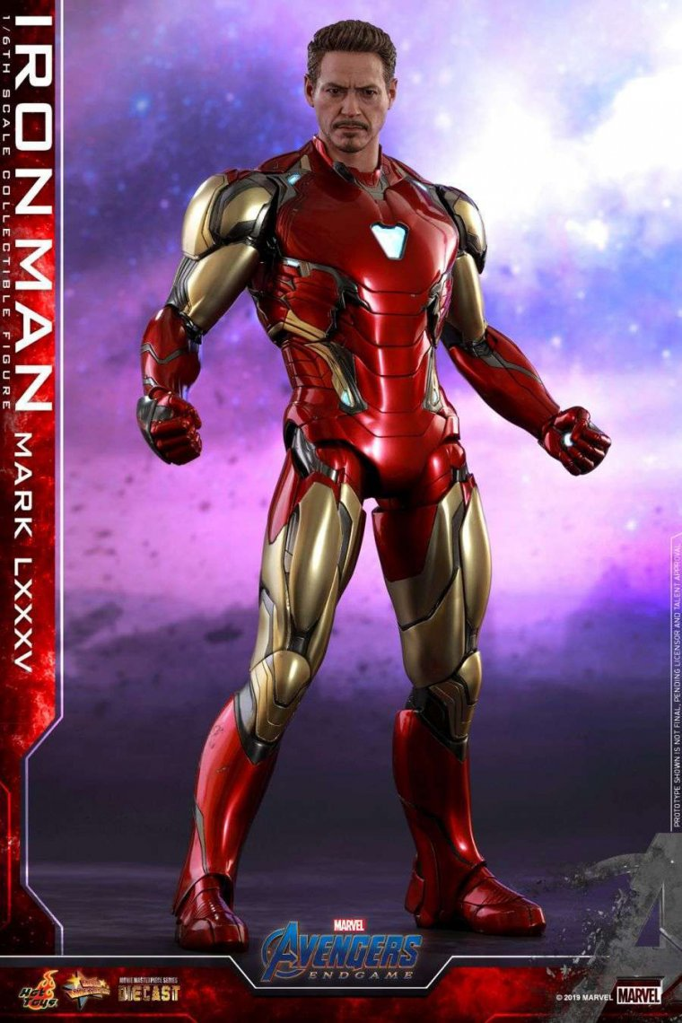 Avengers Endgame - Figurine Hot Toys Iron Man Mark LXXXV 01