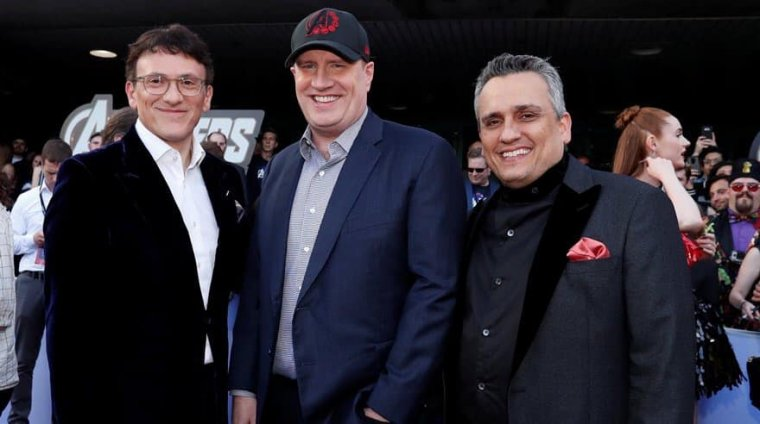 Anthony Russo, Kevin Feige et Joe Russo
