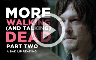 Bad Lip Reading The Walking Dead (VOSTFR)
