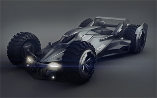 Batman : un fan a superbement redesigné la Batmobile de Batman v Superman
