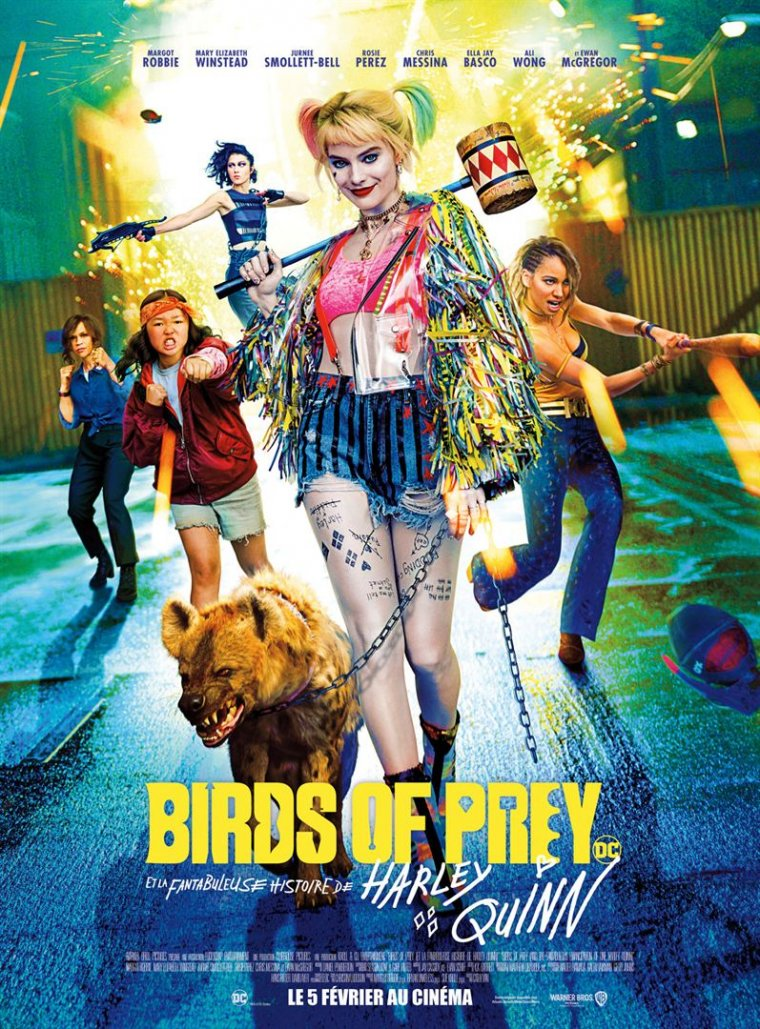 Birds of Prey - Affiche