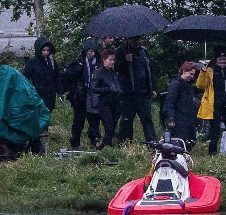 Black Widow : photo de tournage 10