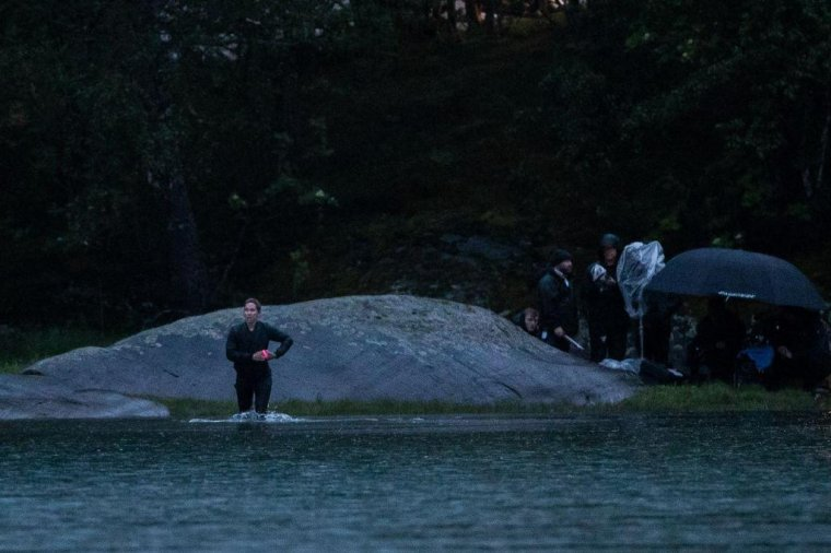Black Widow : photo de tournage 11