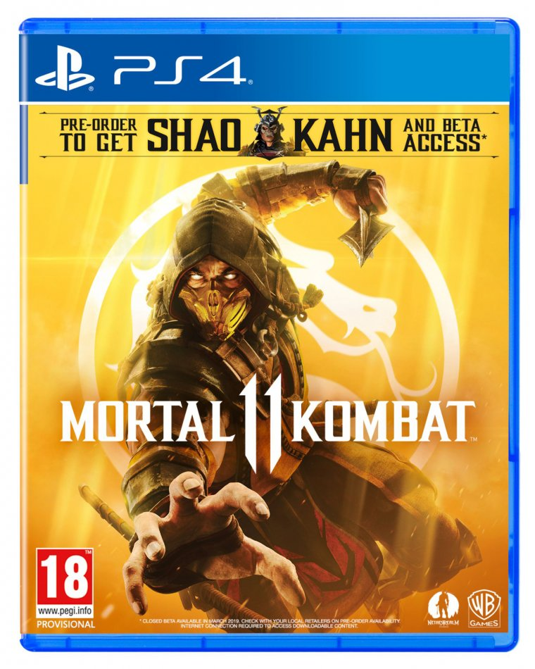 Mortal Kombat 11 - Jaquette PS4