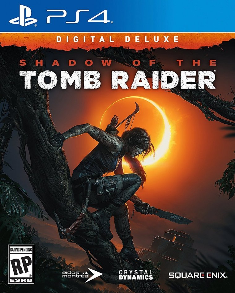 Shadow of the Tomb Raider jaquette PS4