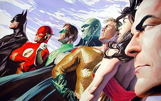 Expo Super-Héros : l'Art d'Alex Ross