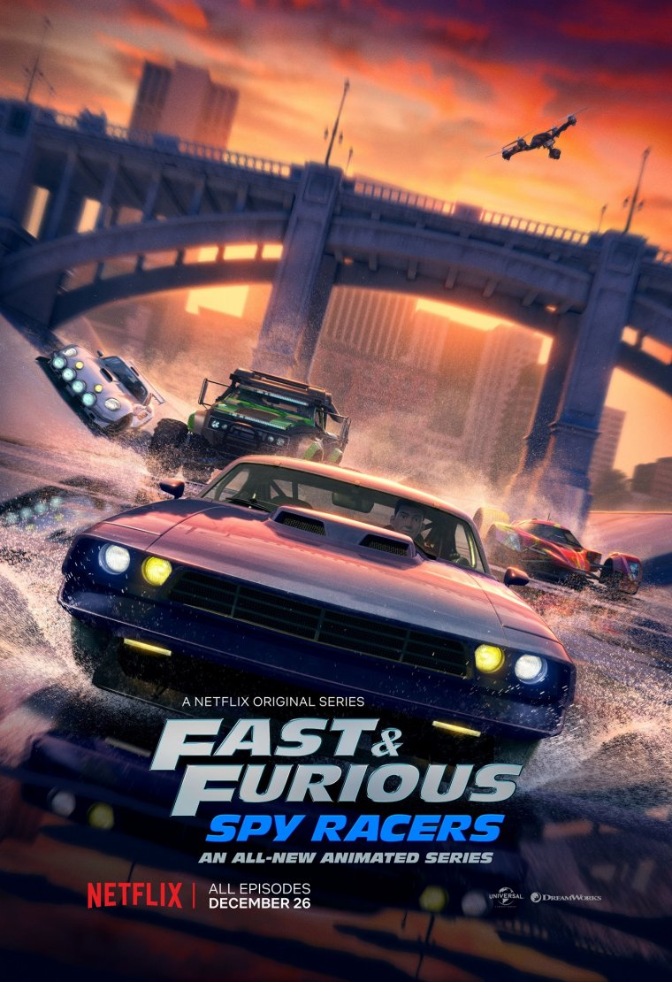 Fast & Furious : Spy Racers - Affiche