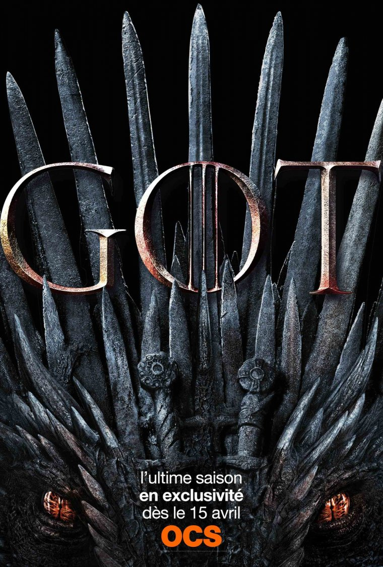 Game of Thrones - Affiche saison 8