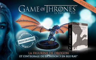 Game of thrones saison 3 édition blu-ray collector exclusive