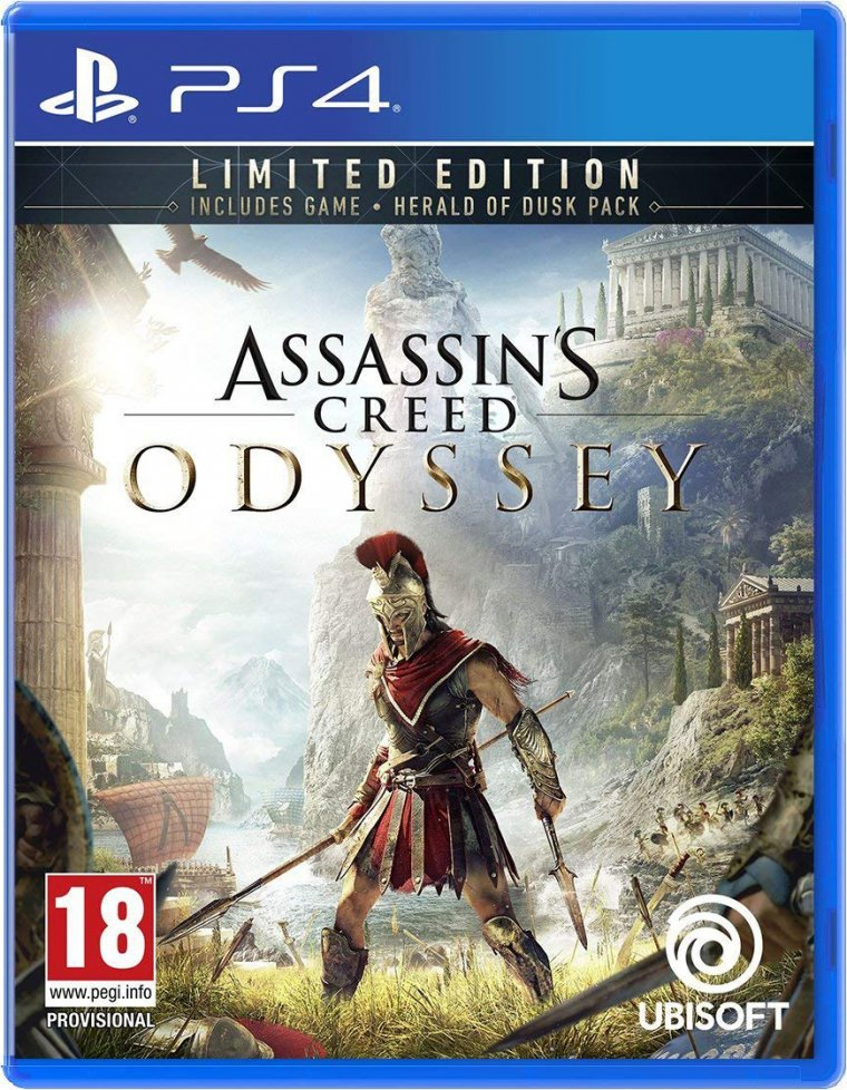Assassin's Creed Odyssey - Jaquette PS4