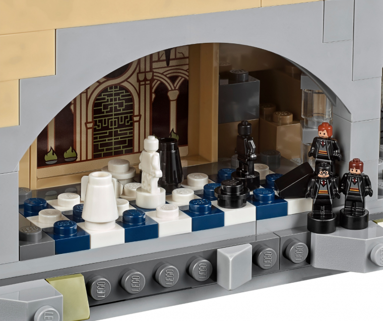 Harry Potter - Set LEGO Poudlard 10