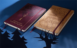 Harry Potter : une sublime collection de carnets Moleskine inspirée de la saga de J.K. Rowling