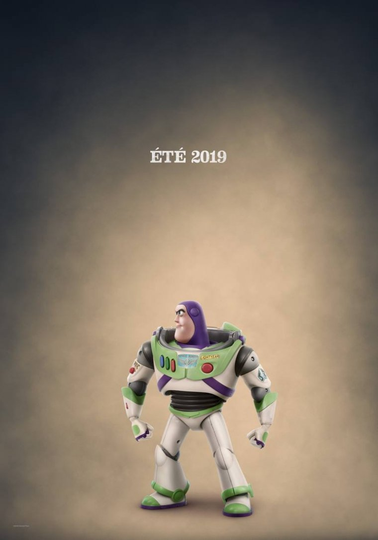 Toy Story 4 - Affiche Buzz