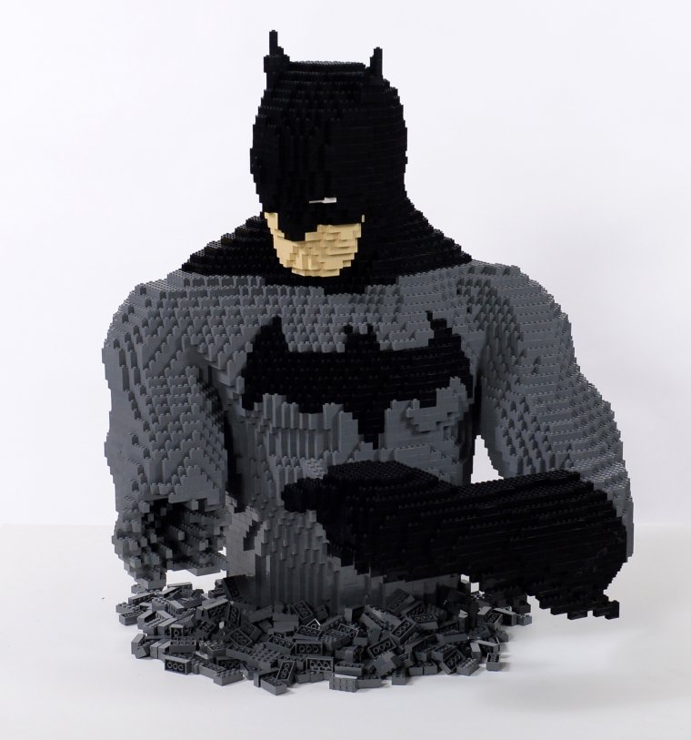 The Art Of The Brick : DC Super Heroes 01