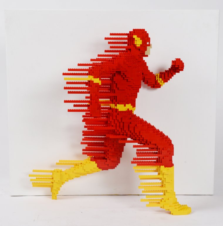 The Art Of The Brick : DC Super Heroes 05