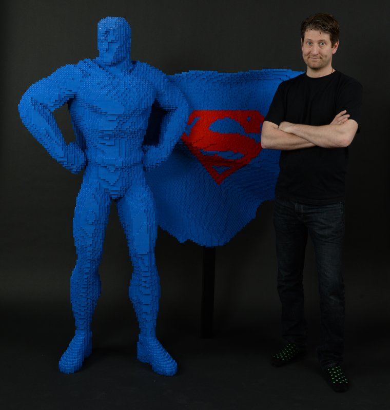The Art Of The Brick : DC Super Heroes 06