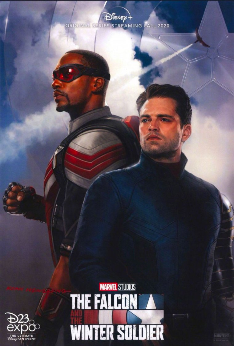 The Falcon and the Winter Soldier - Affiche D23 Expo