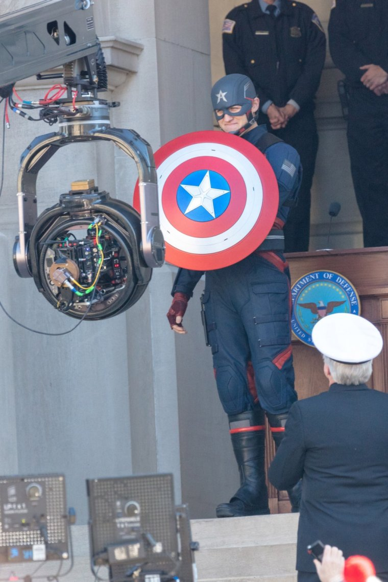 The Falcon and the Winter Soldier - Photo de tournage 03