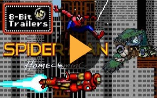 La bande annonce de Spider-Man : Homecoming recréée en version 8 bits