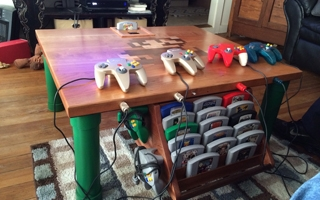 La table basse Nintendo 64