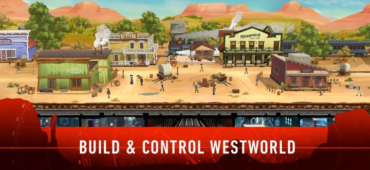 Jeu mobile Westworld 04