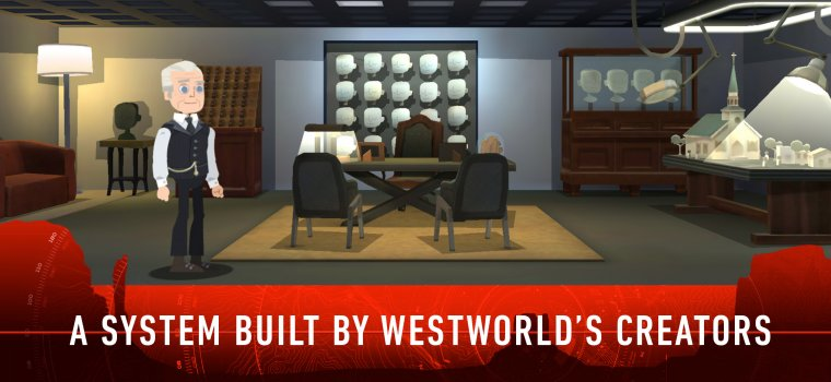 Jeu mobile Westworld 05
