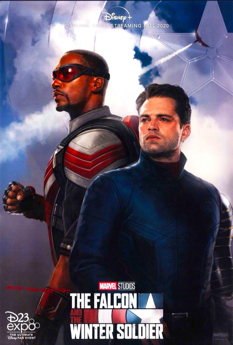 The Falcon and the Winter Soldier - Affiche Expo D23