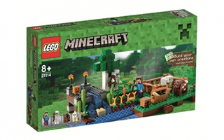 LEGO dévoile sa collection Minecraft