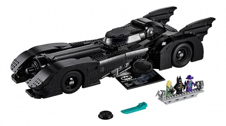LEGO Batmobile Tim Burton 05