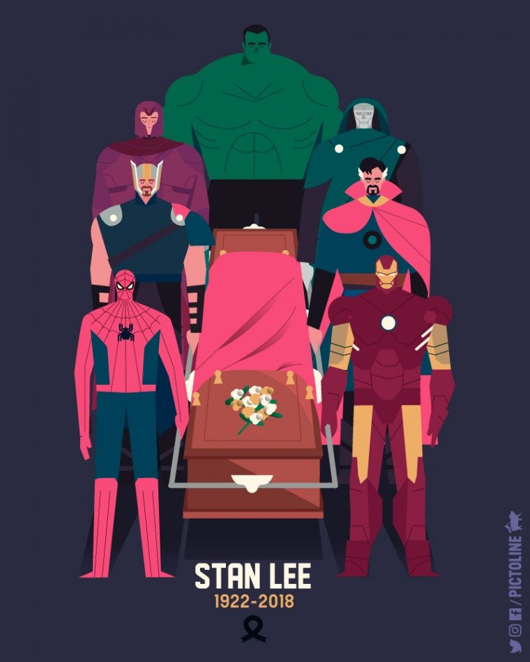 Hommage à Stan Lee - Pictoline