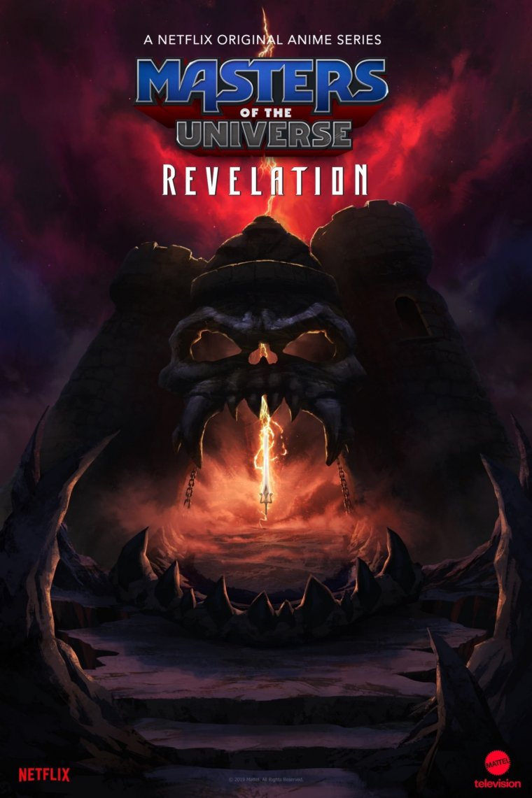 Masters of the Universe: Revelation - Affiche teaser