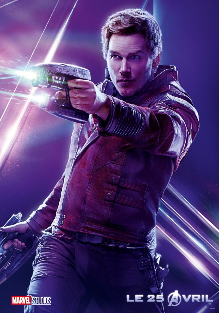 Avengers : Infinity War Star-Lord