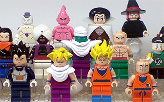 Les personnages de Dragon Ball en version LEGO