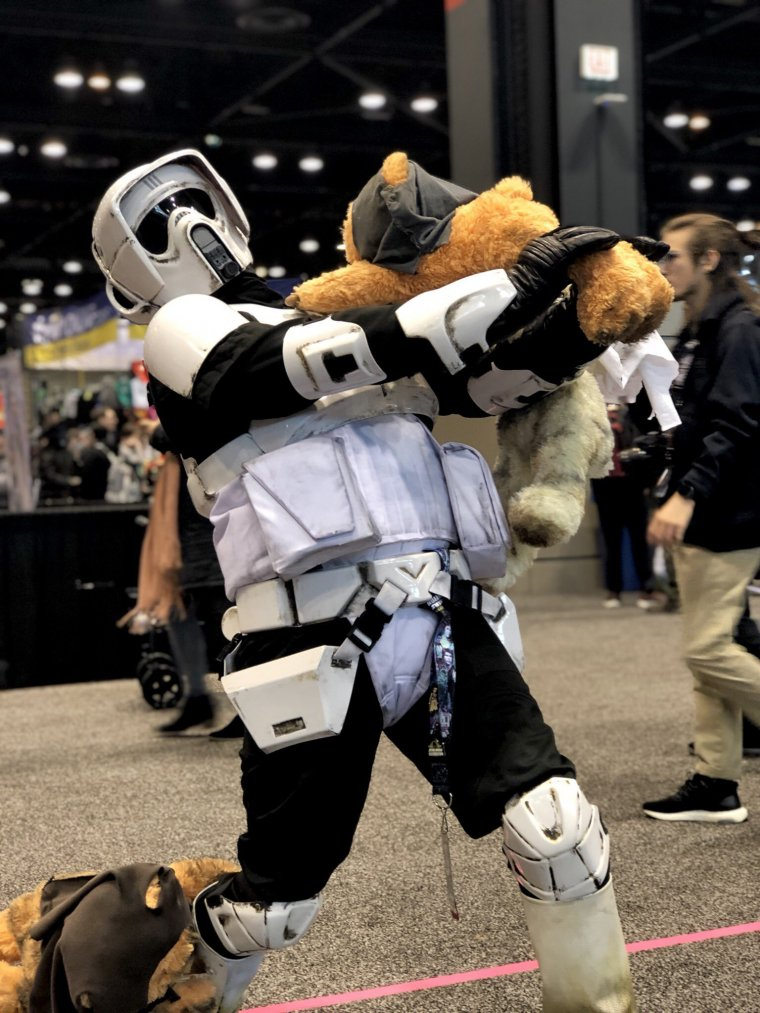 Star Wars Celebration 2019 - Cosplay Scout trooper