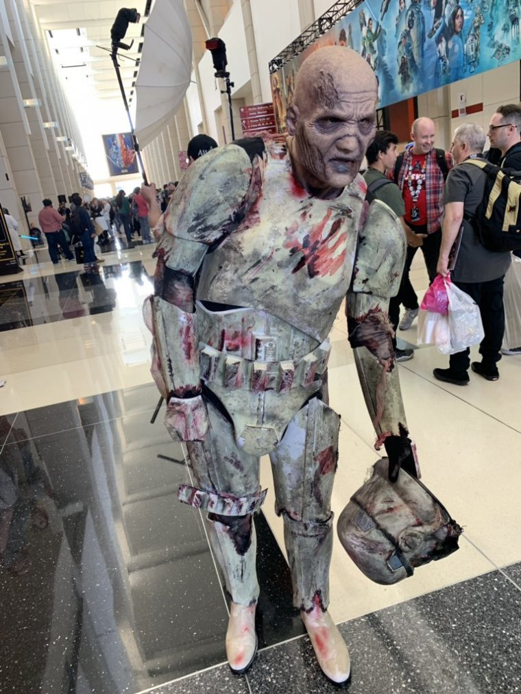 Star Wars Celebration 2019 - Cosplay zombie Stormtrooper
