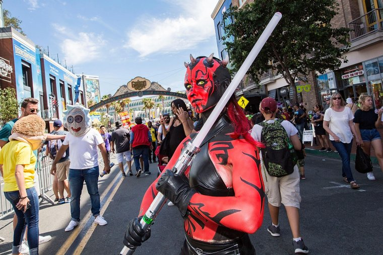 Les plus beaux cosplays du Comic-Con de San Diego 2018 - Darth Maul