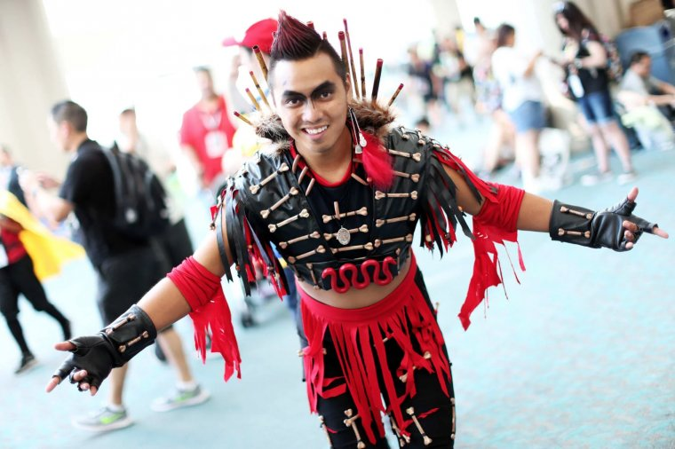 Les plus beaux cosplays du Comic-Con de San Diego 2018 - Rufio (Hook)