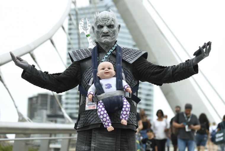 Les plus beaux cosplays du Comic-Con de San Diego 2018 - White Walker