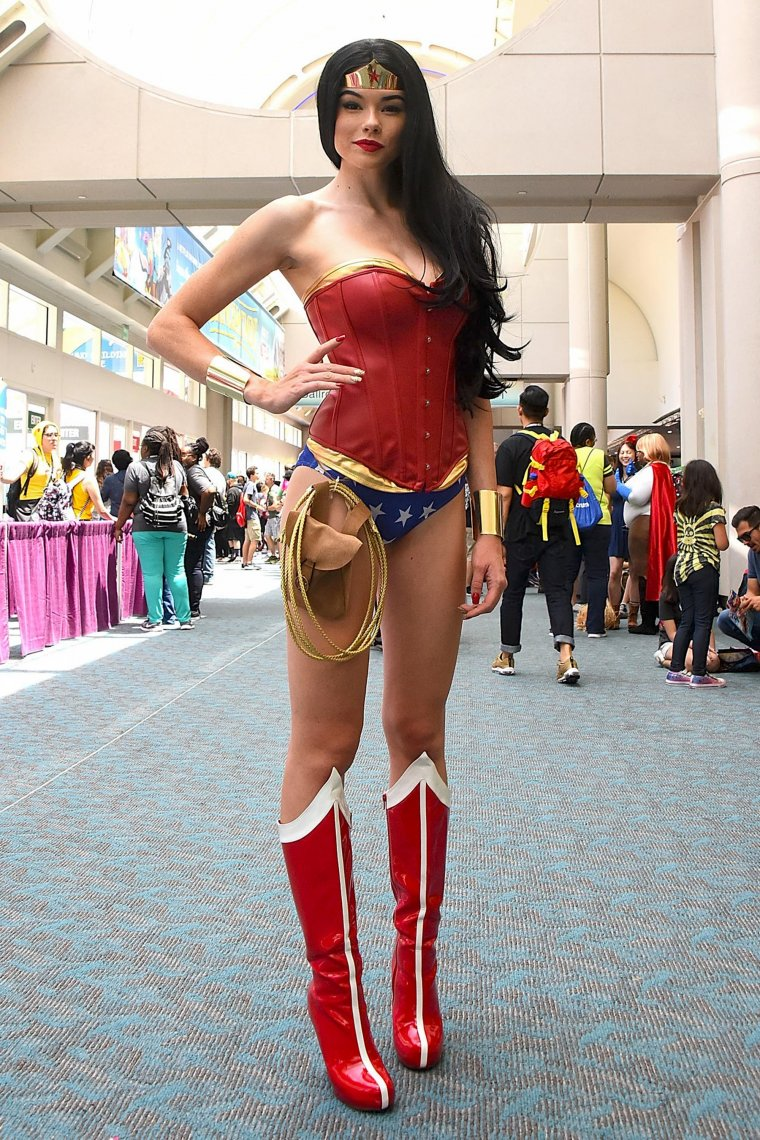 Les plus beaux cosplays du Comic-Con de San Diego 2018 - Wonder Woman