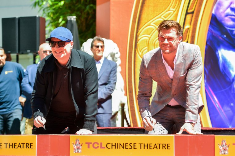 Avengers Chinese Theatre de Hollywood Boulevard 10