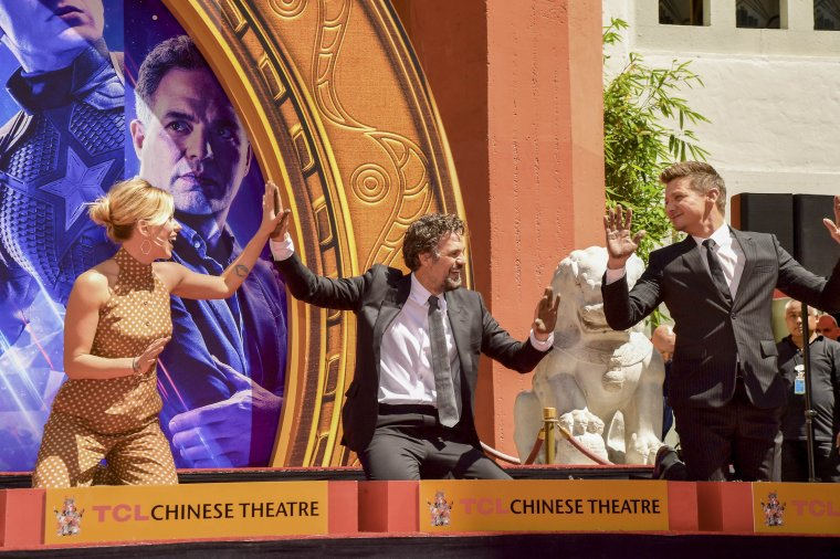 Avengers Chinese Theatre de Hollywood Boulevard 11
