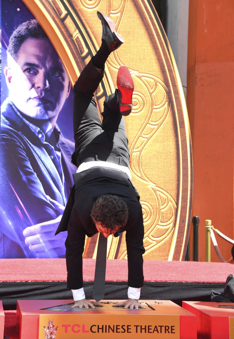 Avengers Chinese Theatre de Hollywood Boulevard 12